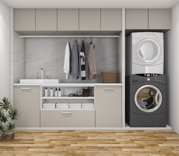 Hardware Resources Shares 6 Quick Tips for Organizing a Multipurpose Laundry Room